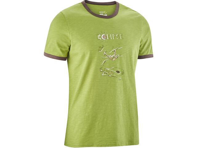 Edelrid Highball III T-paita Miehet, fern